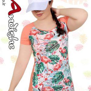 تیشرت چاپی زنانه